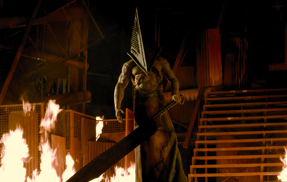 Monster mash: Silent Hill Revelation's strange brilliance ...Silent Hill Revelation Pyramid Head Fight Scene