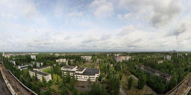 Pripyat panorama